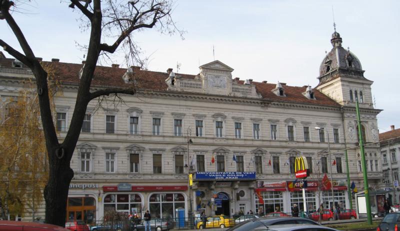 """Edificio principale Università """"Vasile Goldis"""", Arad (Romania)"""