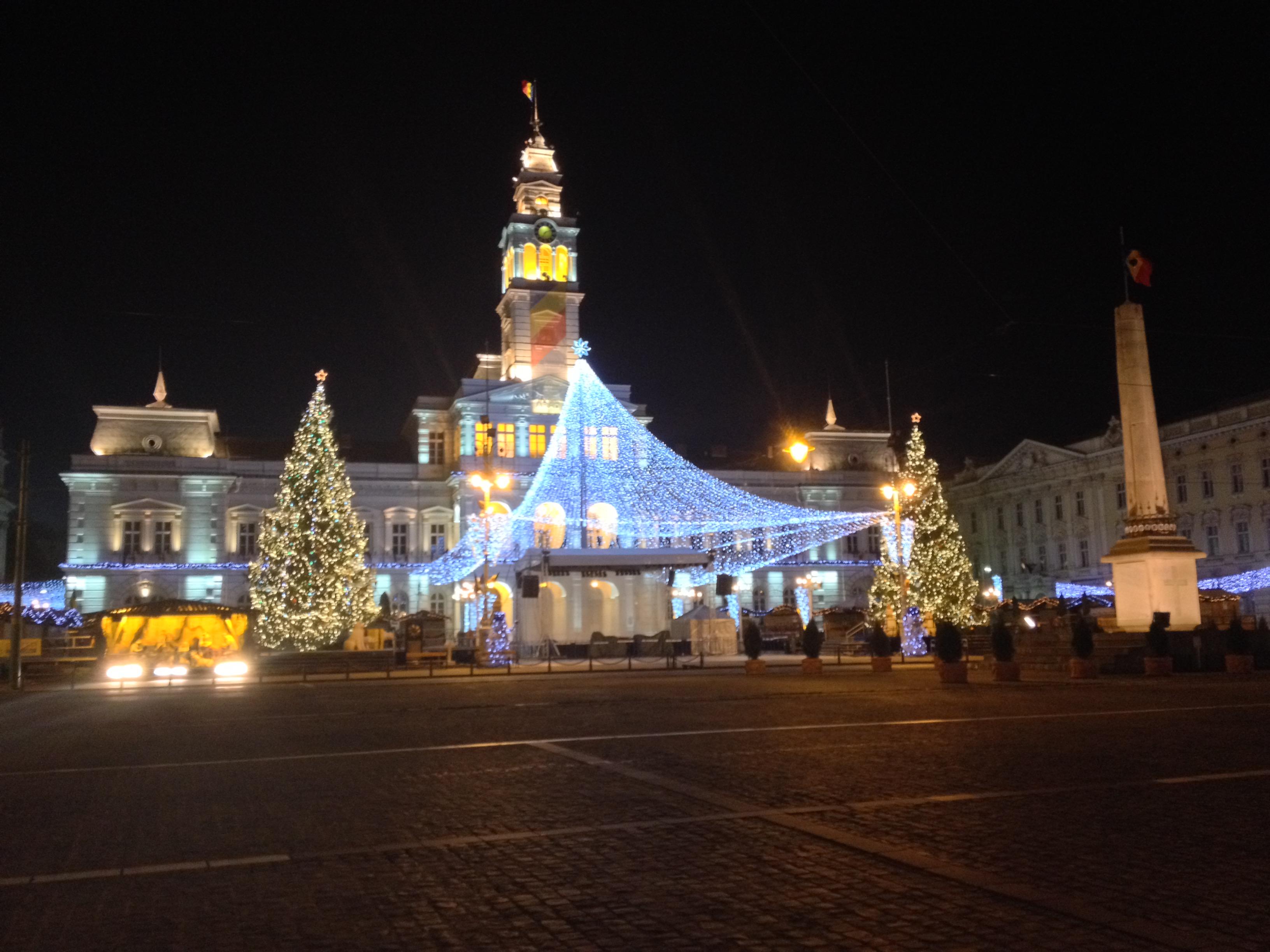 Natale Università Arad Romania