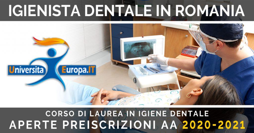 corso di lurea IGIENISTA dentale
