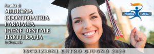 iscrizioni test università romania romania 2020