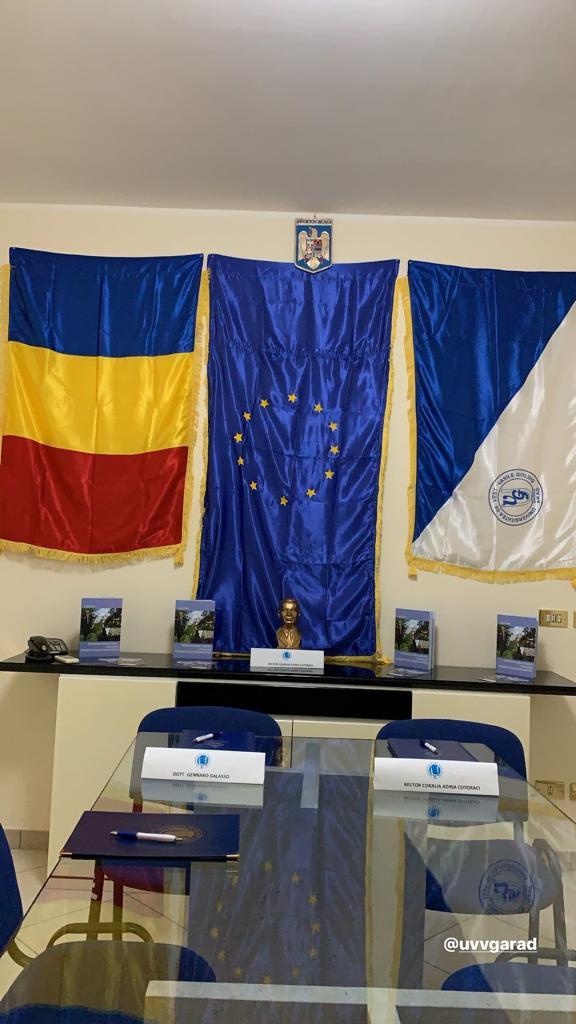 Ufficio rappresentanza Vasile Goldis in Italia