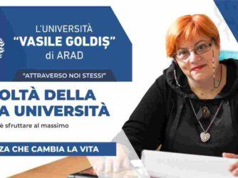 Vest Vasile Goldis di Arad