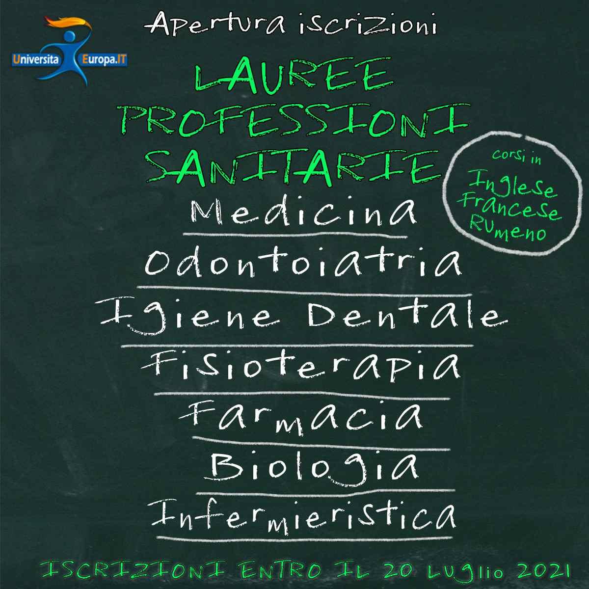 lauree professioni sanitarie
